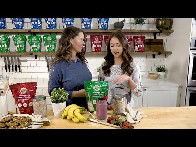 Rogers Foods - Rogers Porridge Oats Ancient Grains Blend Video