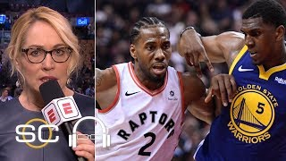 Doris Burke: Raptors respected the Warriors, but 'they did not fear them' | SC with SVP