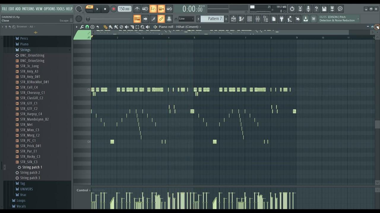 "How to make a Dark / Hard Trap Beat Fl Studio ""DARKNESS"" Fruity Loops Fl Studio 20 Tutorial"