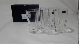 Стаканы для воды Bohemia Quadro 350мл - 6шт -обзор