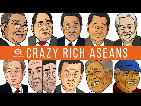 Crazy rich ASEANs: Billionaires from the Southeast Asian region
