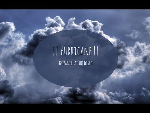 Hurricane by Panic! At The Disco Lyrics