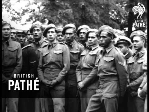Fiji Soldiers Singing (1946)