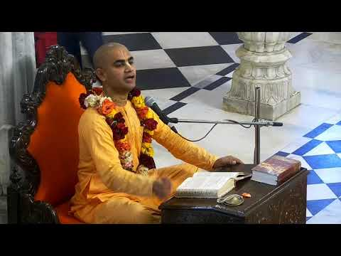 Evening Bhagavad Gita Class 02 23 by  Chakravarti Prabhu on 15th Mar 2018 At ISKCON Juhu