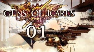 Guns of Icarus Online #01 [LPT] - Die Herren Knasti, FreshFriendz und fredforlaut an Bord, bitte!