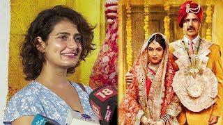 Aamir Khan's Dangal Daughter Fatima Sana Shaikh Review's Toilet Ek Prem Katha Movie