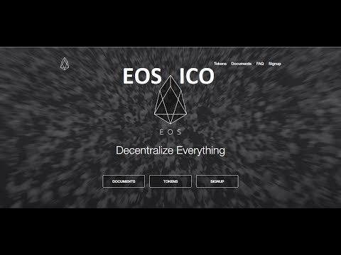 EOS ICO (how to participate in the EOS Token distribution)