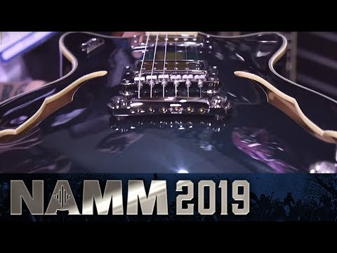 Duesenberg Guitars Including Johnny Depp Signature Model! - NAMM 2019