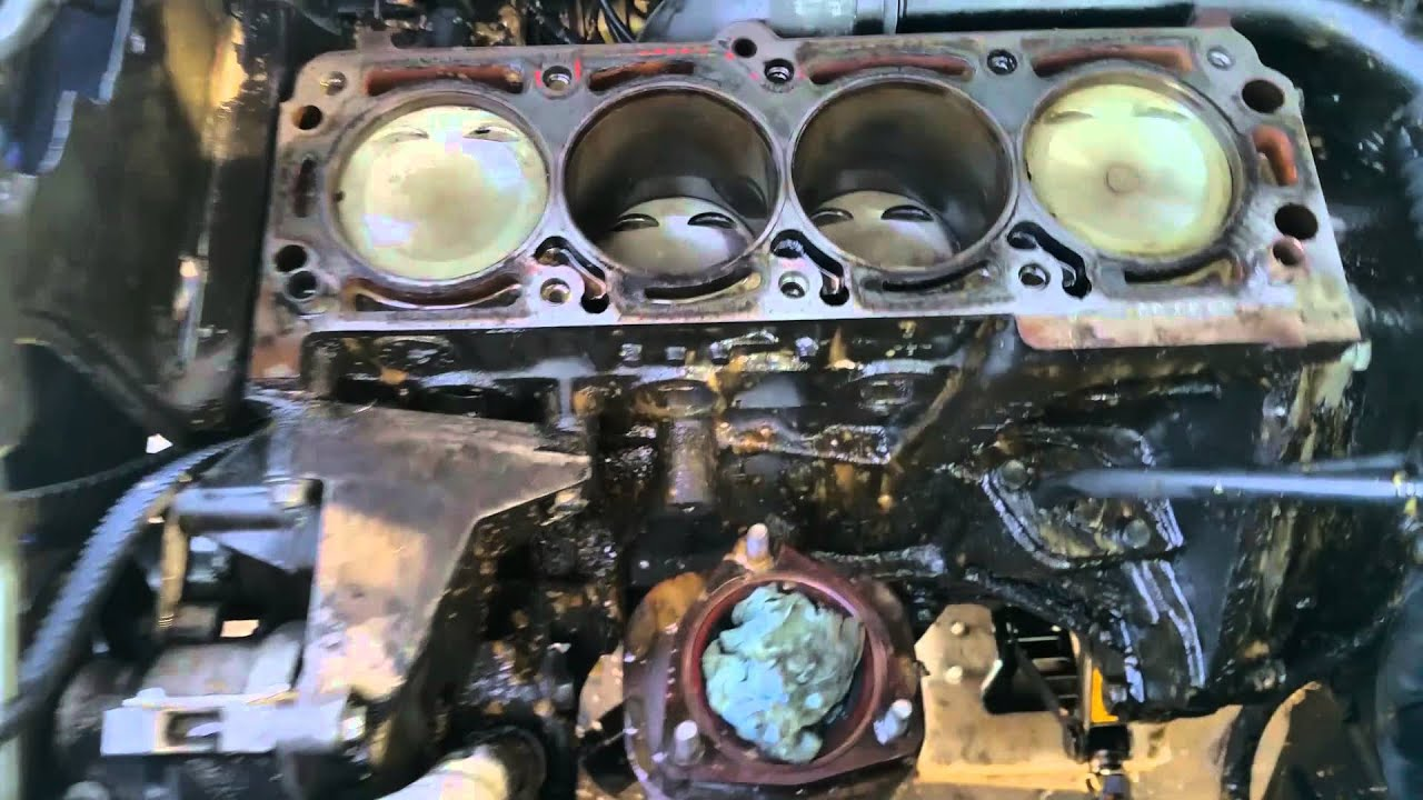 2006 suzuki forenza head gasket replacement - first time part 2