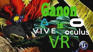 Unreal Engine 4 - VR - Zelda: Ganon Fight - HTC Vive - Oculus Rift [Download link]
