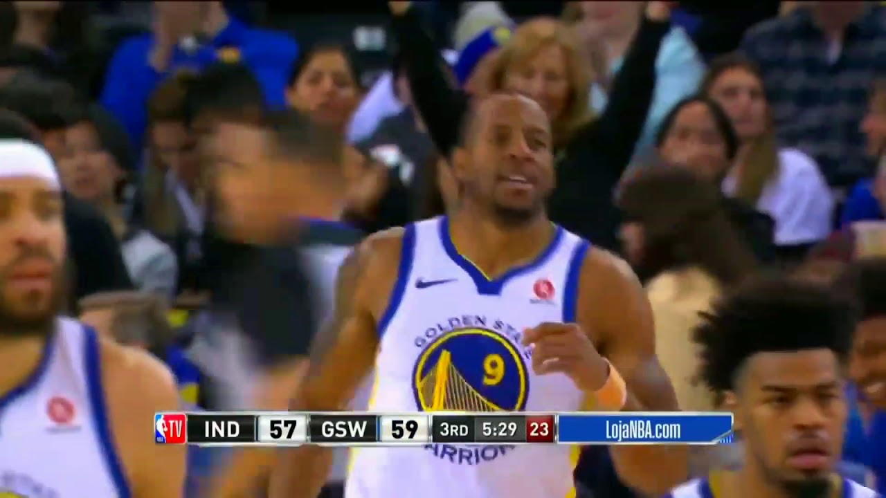 online store 14c9e 916b5 NBA Golden State Warriors 81 x 92 Indiana Pacers Melhores Momentos  28/03/2018