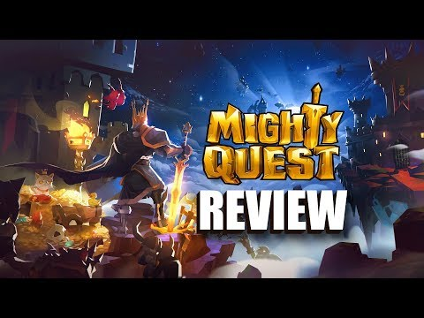 The Mighty Quest For Epic Loot Android Gameplay Review (RPG)