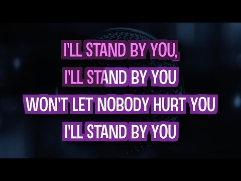 I'll Stand By You Karaoke Version by The Pretenders