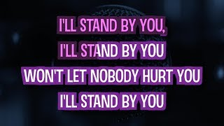 I'll Stand By You (Karaoke Version) - The Pretenders | TracksPlanet