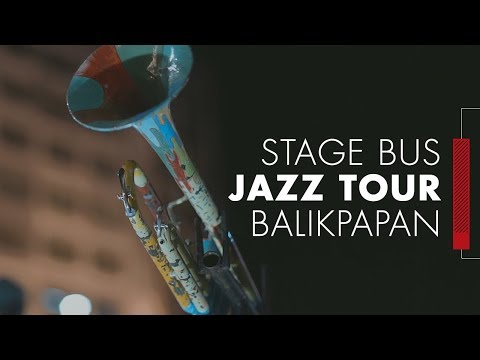 MLDSPOT Stage Bus Jazz Tour Goes To Balikpapan!