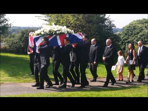 Funeral of IndyCar racer Justin Wilson