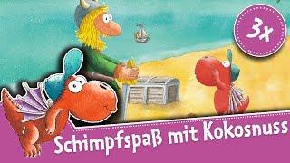 Schimpfen wie der kleine Drache Kokosnuss - lustige Schimpfworte für Kinder – Drei Videos