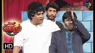 Rocket Raghava Performance | Jabardasth| 19th October 2017| ETV  Telugu
