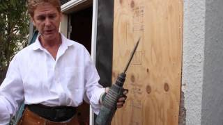 Bosch Bulldog Rotary Hammer, remove stucco or cement plaster like the experts,