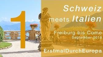 Freiburg bis Comer See | Schweiz meets Italien | Kastenwagen WoMo Reisebericht