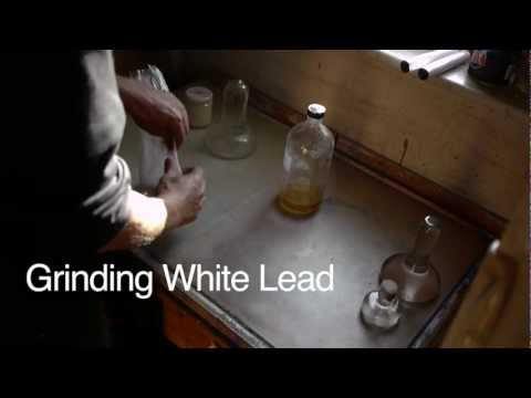 Marc Dalessio's Minute Painting Video #6: Grinding White Lead