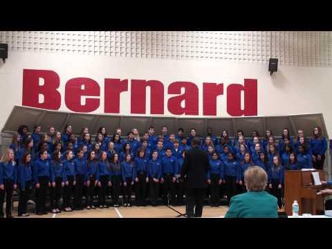 Crestview Middle School Group Festival at Bernard Middle School 3-13-2013 - Honors Choir 2