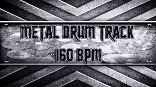 Metal Drum Track 160 BPM (HQ,HD)
