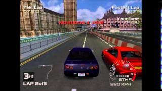 Metropolis Street Racer - NullDC Gameplay