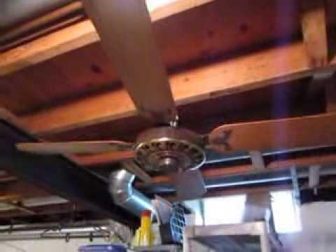 1971 sears lasko japanese spinner 52 39 39 ceiling fan youtube. Black Bedroom Furniture Sets. Home Design Ideas