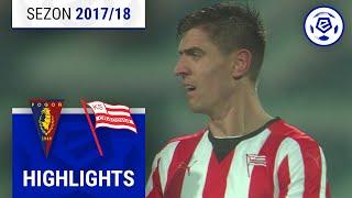 Pogoń Szczecin - Cracovia 0:3 [skrót] sezon 2017/18 kolejka 27
