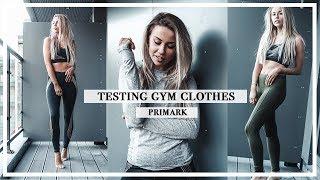 Primark Gym Range: First Impressions & Squat Test (incl Alice Liveing Collection) | Copper Garden