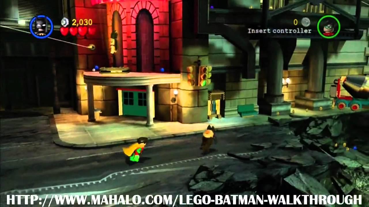 Lego Batman Walkthrough Mission 1 You Can Bank On Batman Youtube