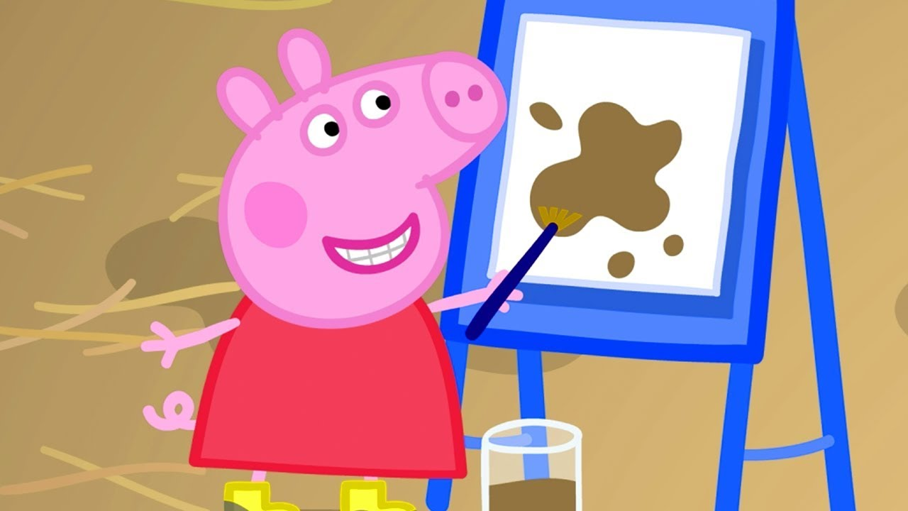 Peppa Pig English Episodes Muddy Festival With Peppa Pig And Panda Twins Peppa Pig