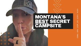 MONTANA'S BEST SECRET CAMṖSITE | LOST CREEK STATE PARK | MICHIGAN ADVENTURE COUPLE | SHHH! | 2020