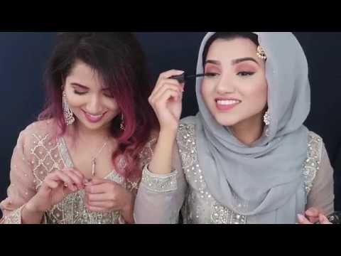 EID MAKEUP TUTORIAL IN HYDERABADI URDU + English subtitles