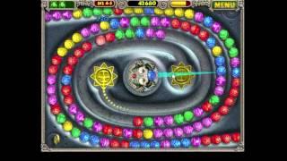ZUMA  Level 4-5  ZUMA PC Levels Game play, Play through