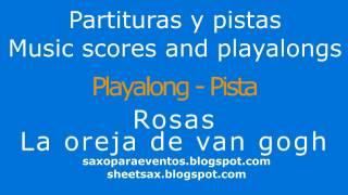 Pista de Rosas + Partitura gratis