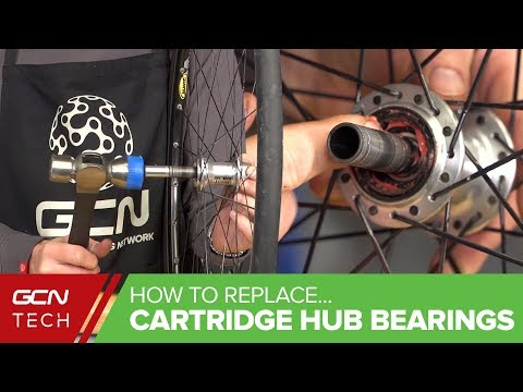 How To Replace Cartridge Hub Bearings In Your Road Bike Wheels