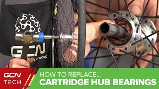 How To Replace Cartridge Hub Bearings In Your Road Bike Wheels