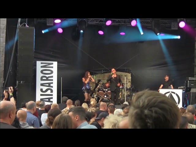 Caisaron Live  am 13.07.18 auf der Festung Königstein !