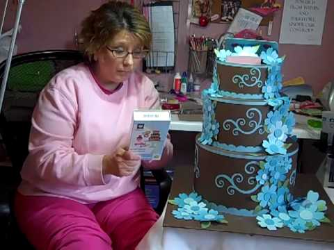 Wedding Cake Card Holder Instructions Part 1