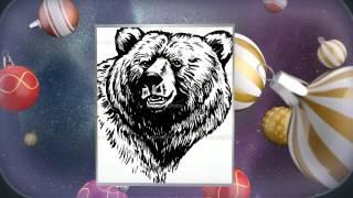 Тату медведя