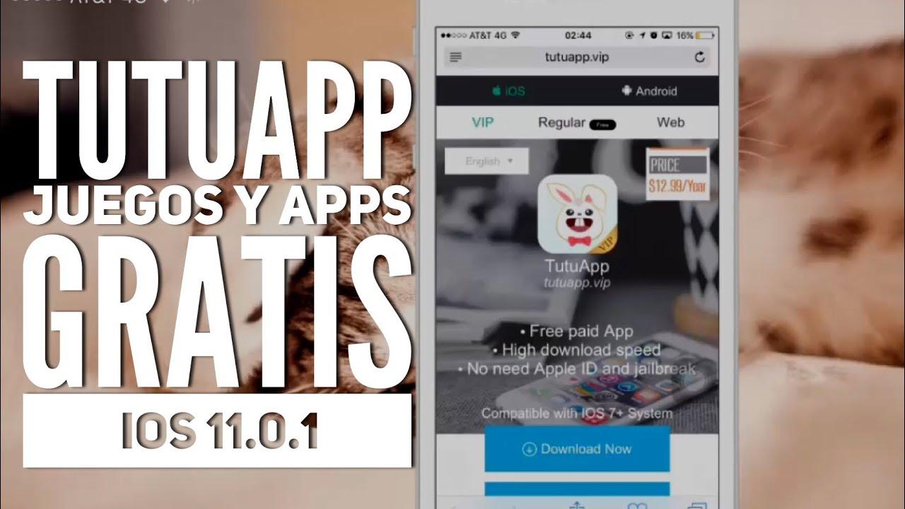 Apps Juegos Gratis En Ios 11 Tutuapp Para Iphone Ipad Youtube