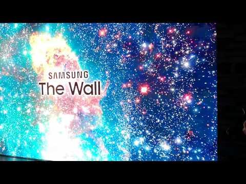 Samsung The Wall microLCD television