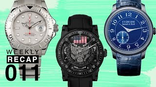 Weekly Recap: Personal Collections, Top Watch Designs of the Decade, and A Very Patriotic Watch