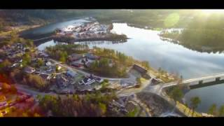 Byglandsfjord from the sky | Aerial Videography