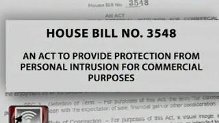 Anti-Intrusion of Privacy Bill, ipagbabawal ang pagkuha ng litrato nang walang pahintulot