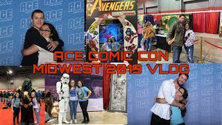 ACE COMIC CON MIDWEST 2019 VLOG//I MET TOM HOLLAND