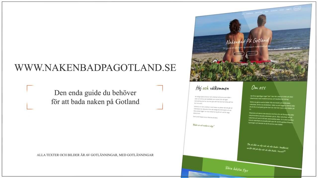 Nakenbad Gotland
