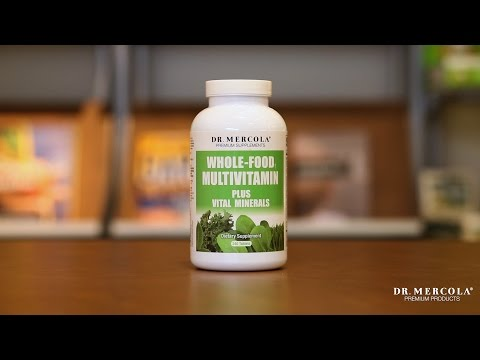 Dr. Mercola's Whole-Food Multivitamin Supplement with Vital Minerals